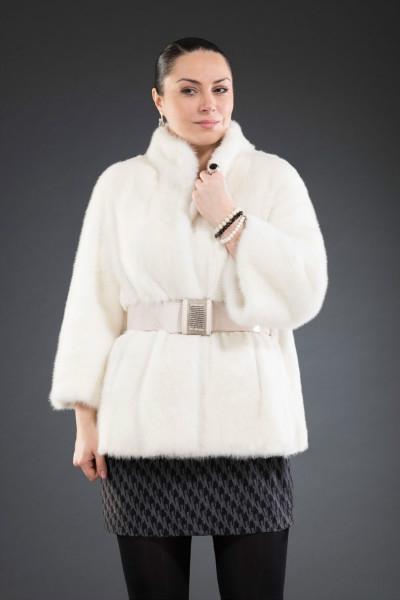 Н-К-304 куртка вор. стойка 65см  арт № 200-1311 меховое изделие из норки