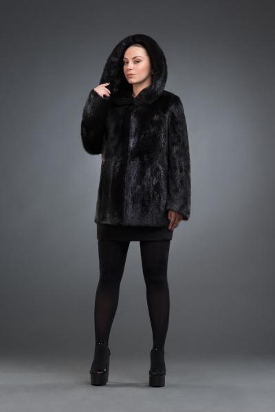 М-134 нутрия куртка 70см, арт № 800-7016, шуба из нутрии
