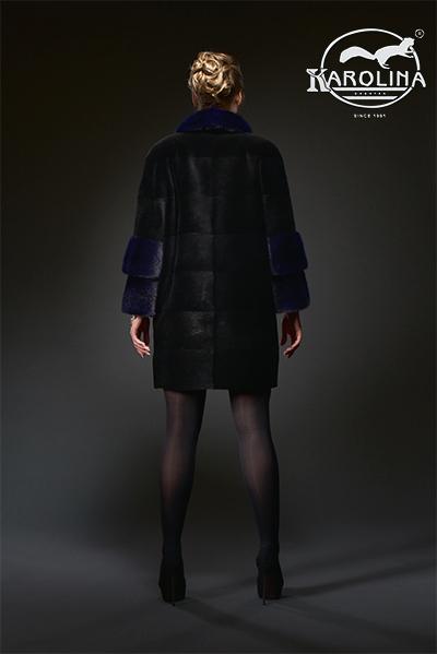 Пальто из нутрии Н-1039В