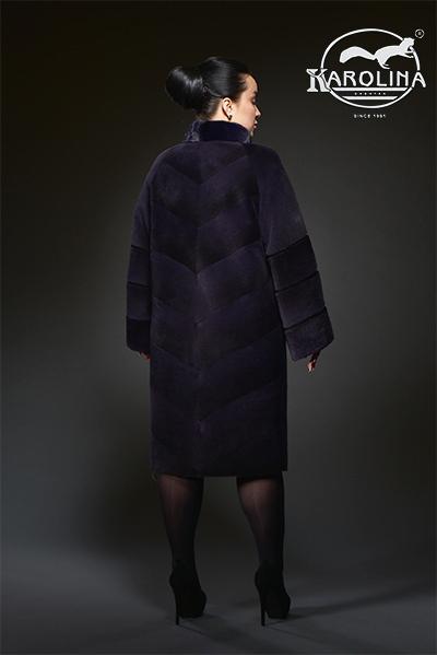 Пальто из нутрии Н-1030В