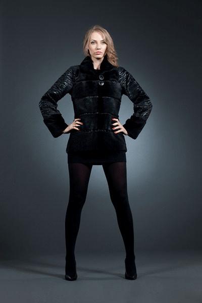 Марго куртка нутрия 65см арт № 800-1401 шуба из нутрии