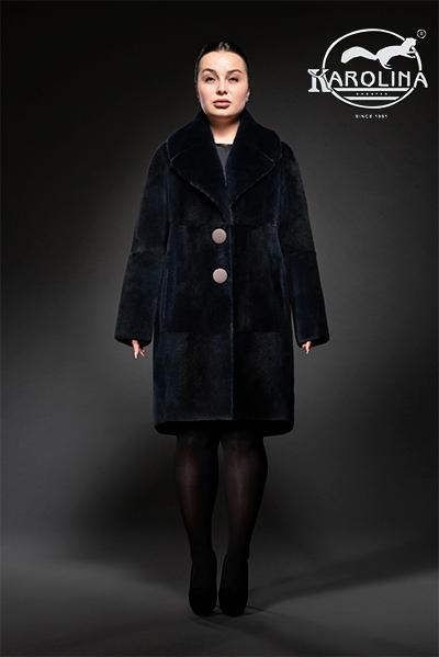 Пальто из нутрии Н-1021В