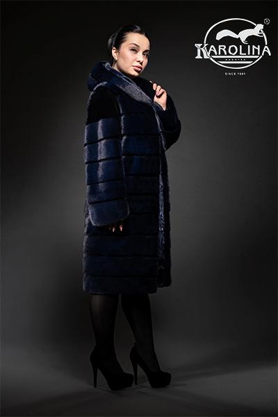 Пальто из норки НК-385К