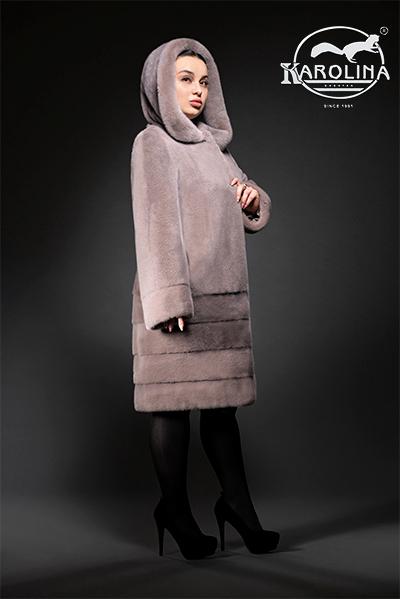Пальто из норки НК-392К
