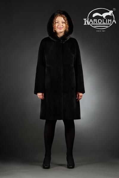 Шуба Анфиса пальто из нутрии № 800 Н-401 К