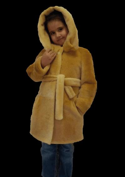 ДТ- 4  Детская  шубка  из  нутрии