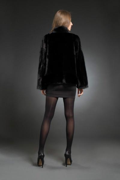 Н-К-304 куртка вор. стойка 65см  арт № 200-1206 меховое изделие из норки