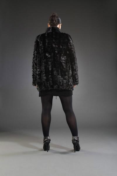 Куртка кулиска кусковая 75см, арт № 200-220 меховое изделие из норки