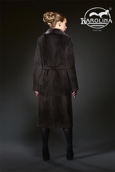 Пальто из нутрии Н-735