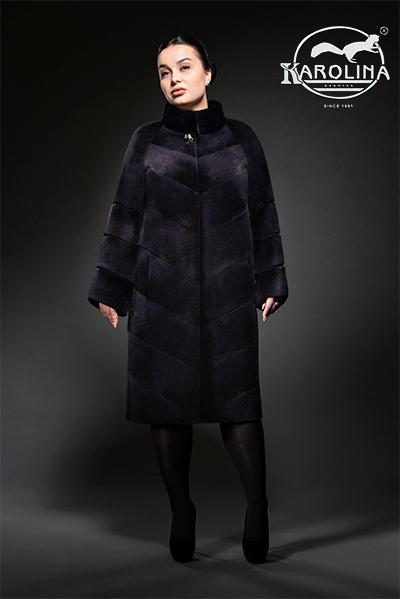 Пальто из нутрии Н-1044В