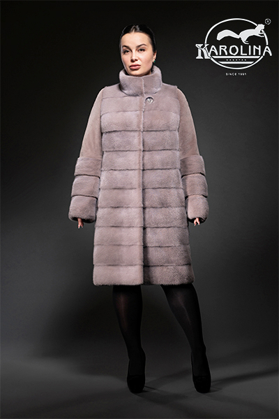 Пальто из норки НК-386В