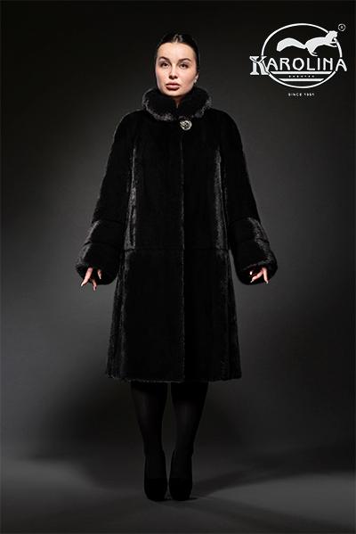 Пальто из норки НК-393В