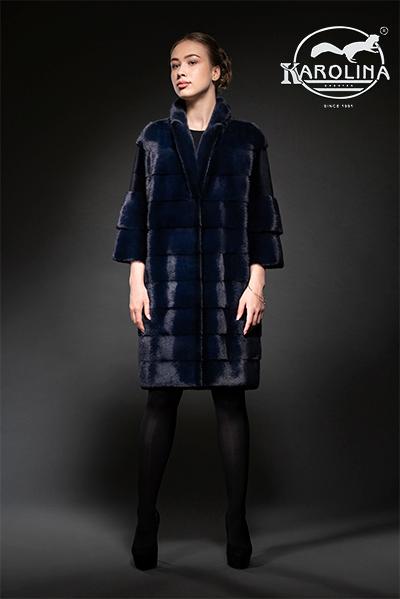 Пальто из норки НК-394В