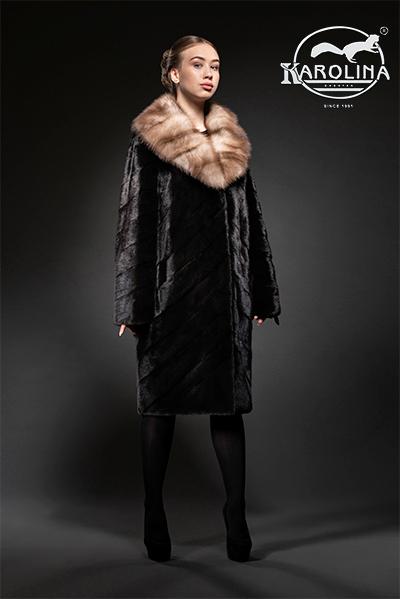 Пальто из норки НК-400