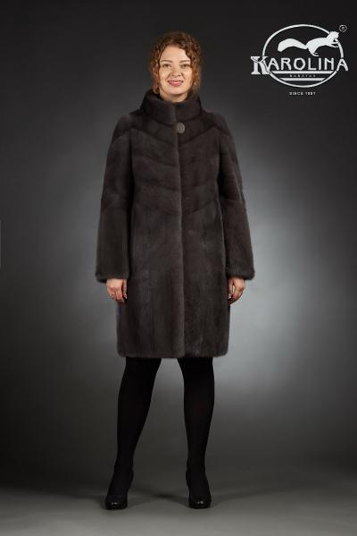Шуба из норки пальто № НК-382 В